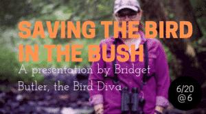 Saving the Bird in the Bush