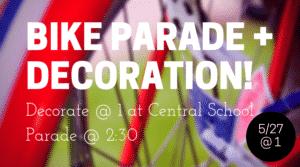 Bike Parade Decoration!